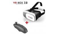 VR BOX 2 Virtual Reality 3D + Bluetooth Control + glass
